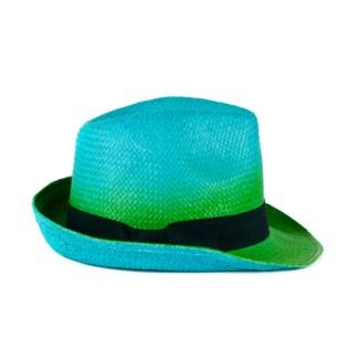 Cieniowany kapelusz trilby