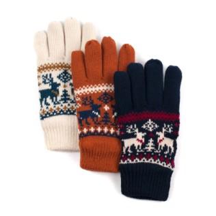 Rękawiczki w renifery UNISEX