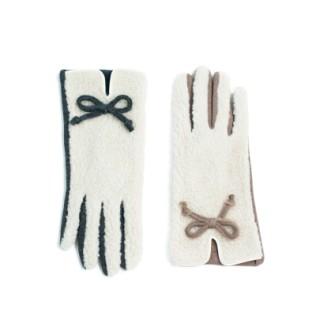 Rękawiczki z kożuszkiem