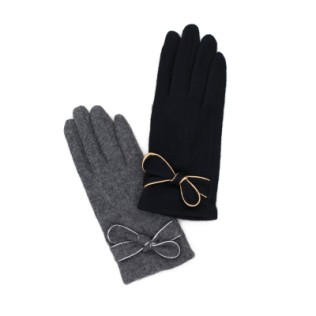 Rękawiczki Błyszcząca lamówka