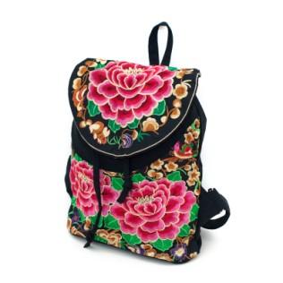 Plecak haftowane róże